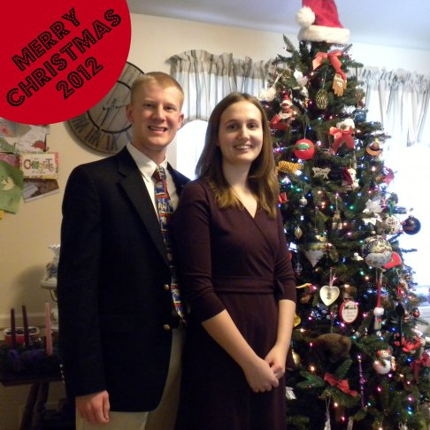 Our Christmas Tree picture for 2012.