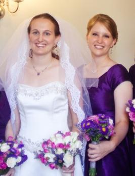 Last year, at my wedding.