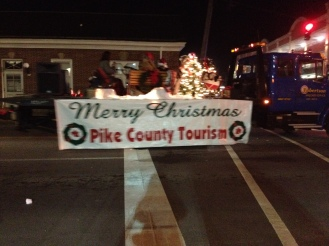 The Pikeville Christmas parade.