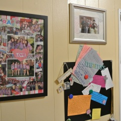 My wall of love.