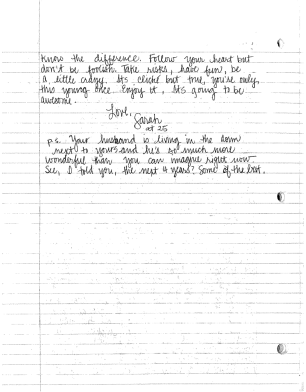 Letter to roommate essay stanford