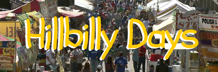 Hillbilly Days, yes it is a real thing.